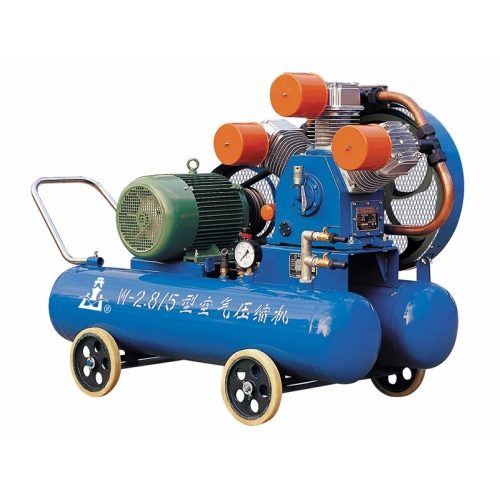 Piston diesel series air compressors for mines and engineering purposes